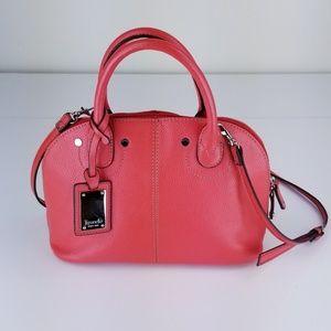Tignello Orange Small Crossbody Handbag EXCELLENT